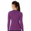 Load image into Gallery viewer, Women's Top 3D Run PRO Long Sleeve Purple Back