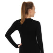 Load image into Gallery viewer, Women's Top 3D Bike PRO Long Sleeve Black Back