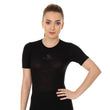 Load image into Gallery viewer, Women Unisex 3D PRO Base Layer T-Shirt Black Front