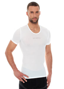 Men Unisex 3D PRO Base Layer T-Shirt White