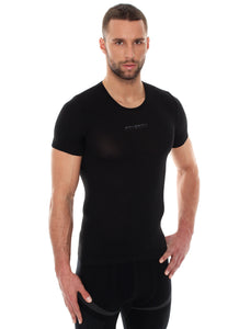 Men Unisex 3D PRO Base Layer T-Shirt Black