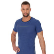 Load image into Gallery viewer, Men's Top 3D Run PRO Short Sleeve Dark Blue Front