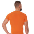 Load image into Gallery viewer, Men's Top 3D Run PRO Short Sleeve Orange Back