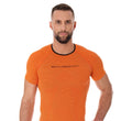 Load image into Gallery viewer, Men's Top 3D Run PRO Short Sleeve Orange Front