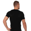 Load image into Gallery viewer, Men's Top 3D Bike Pro Short Sleeve Black Back