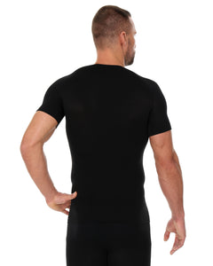 Men's Top 3D Bike Pro Short Sleeve Black Back