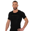 Load image into Gallery viewer, Men's Top 3D Bike Pro Short Sleeve Black Front