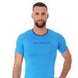 Load image into Gallery viewer, Men's Top 3D Bike Pro Short Sleeve Light Blue Front