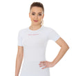 Load image into Gallery viewer, Women's Top 3D Bike PRO Short Sleeve White