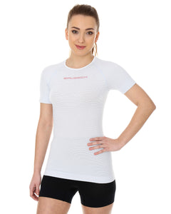 Women's Top 3D Bike PRO Short Sleeve White