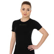 Load image into Gallery viewer, Women's Top 3D Bike PRO Short Sleeve Black