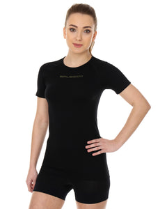 Women's Top 3D Bike PRO Short Sleeve Black