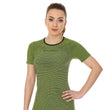 Load image into Gallery viewer, Women's Top 3D Bike PRO Short Sleeve Lime