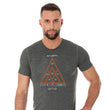 Load image into Gallery viewer, Men's Top OUTDOOR WOOL Short Sleeve Grey Front