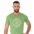 Load image into Gallery viewer, Men's Top OUTDOOR WOOL Short Sleeve Green Front