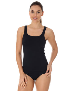 Women's COMFORT COOL Camisole Black Front