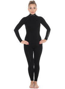 Women's Top EXTREME WOOL Long Sleeve Black Full