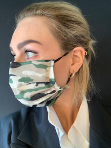 Reusable Protective Face Mask. Two-Layer 100% Cotton. 3-piece pack.