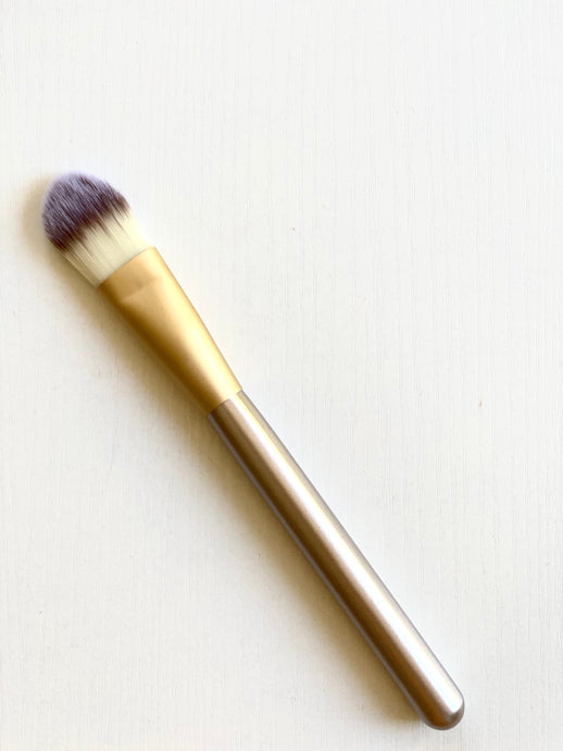 Luxury Mask Brush Gold Handle