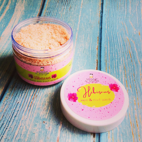 Hibiscus - Hand and Foot Scrub