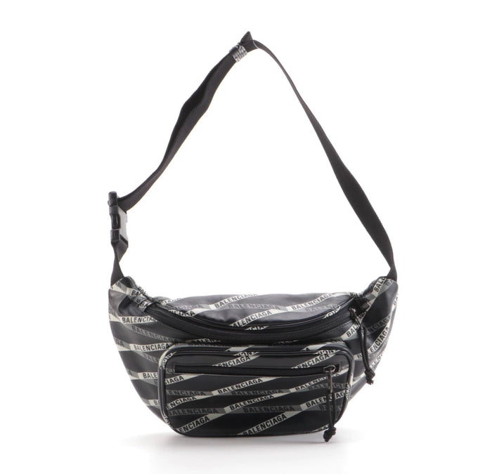 Explorer Logo Print Leather Belt Bag - LuluBoopVintage