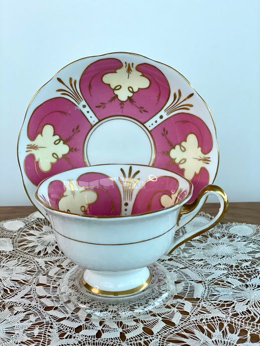 Royal Albert Tea Cup and Saucer - 50s
