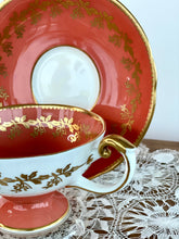 Aynsley Tea Cup and Saucer - 50s Bone China
