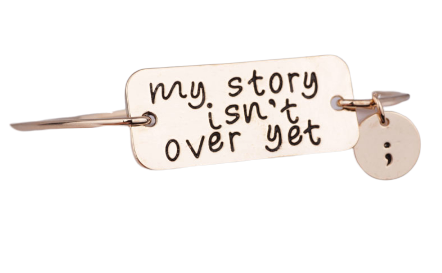 My story isn't over yet bangle