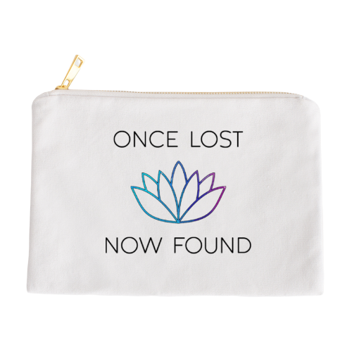 Once Lost, Now Found Makeup Bag
