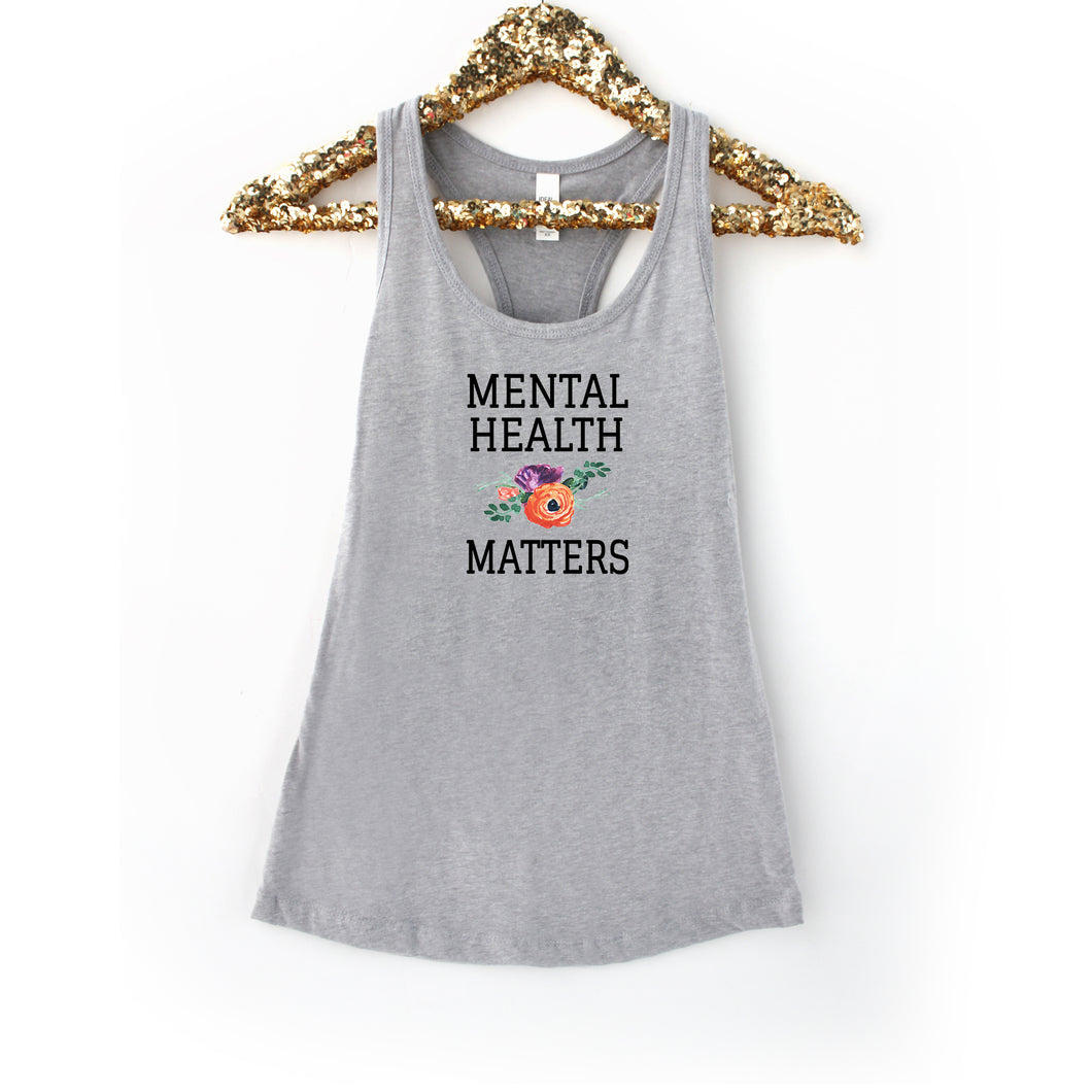 Mental Health Matters Grey