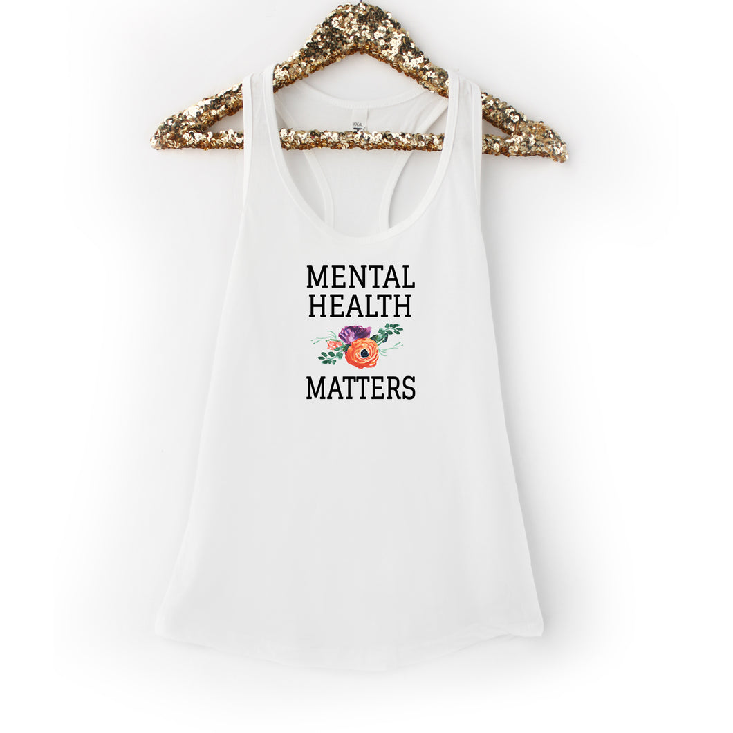 Mental Health Matters White