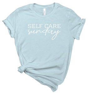 Self Care Sunday Ice Blue