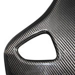Carbon Fibre Seat Backs with Pinstripe (L494 SVR 2015-2017)