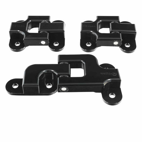 Billet Aluminium Rear Door Hinge Set - Defender