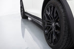 Tesla Model X - Carbon Side Skirts
