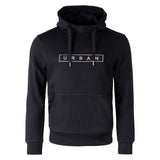 URBAN Pull Over Hoodie - BLACK / GREY