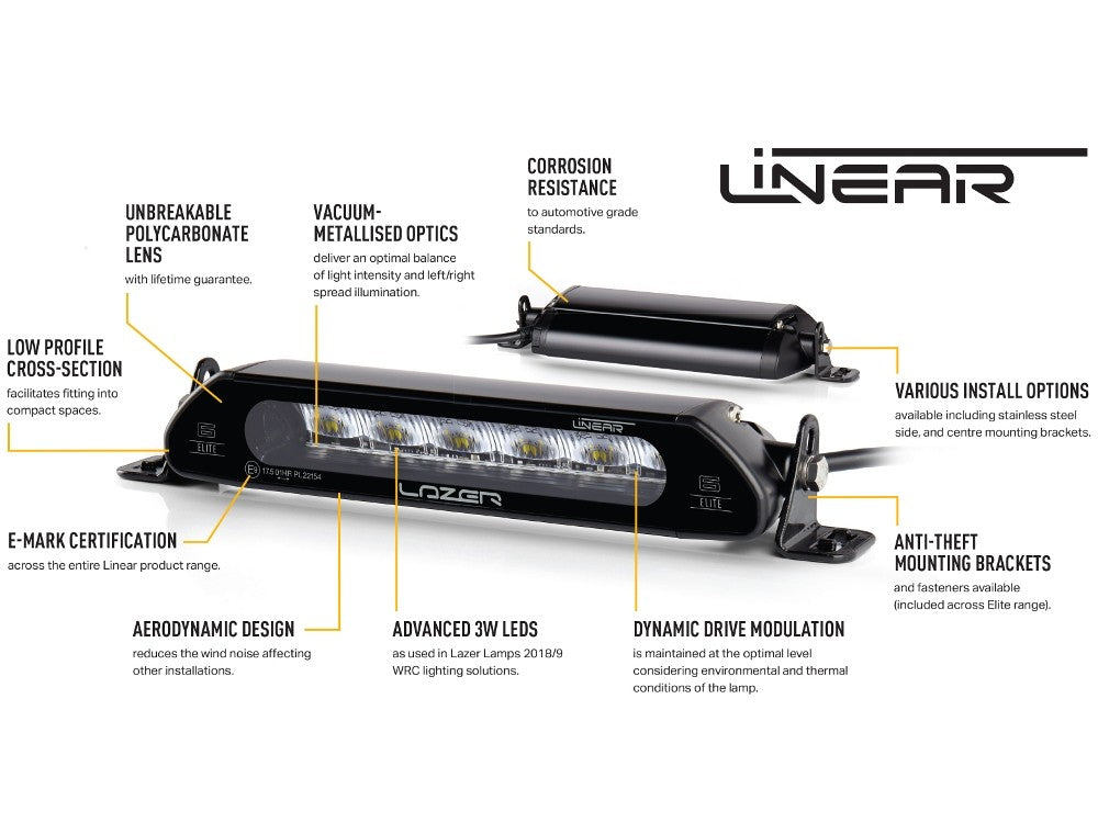 Lazer Linear-12 LED Elite Light Bar