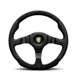 MOMO Dark Fighter Steering Wheel - 350mm