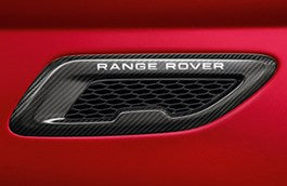 Genuine LR Evoque Carbon Bonnet Vents