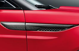 Genuine LR Evoque Carbon Wing Vents
