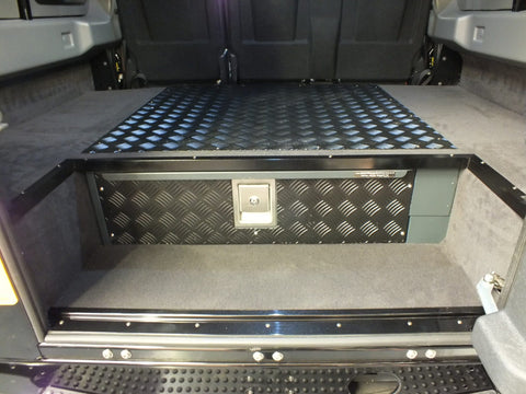 Rear Load Space Lockable Drawer - Fully Fitted