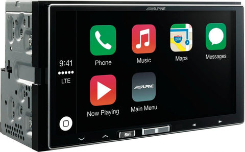 Alpine iLX-700 CarPlay Double DIN Unit - Fitted Package