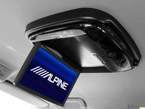 Alpine Rear Entertainment System - Fully Fitted