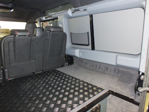 Rear Load Space Stowage System - Fitted Package