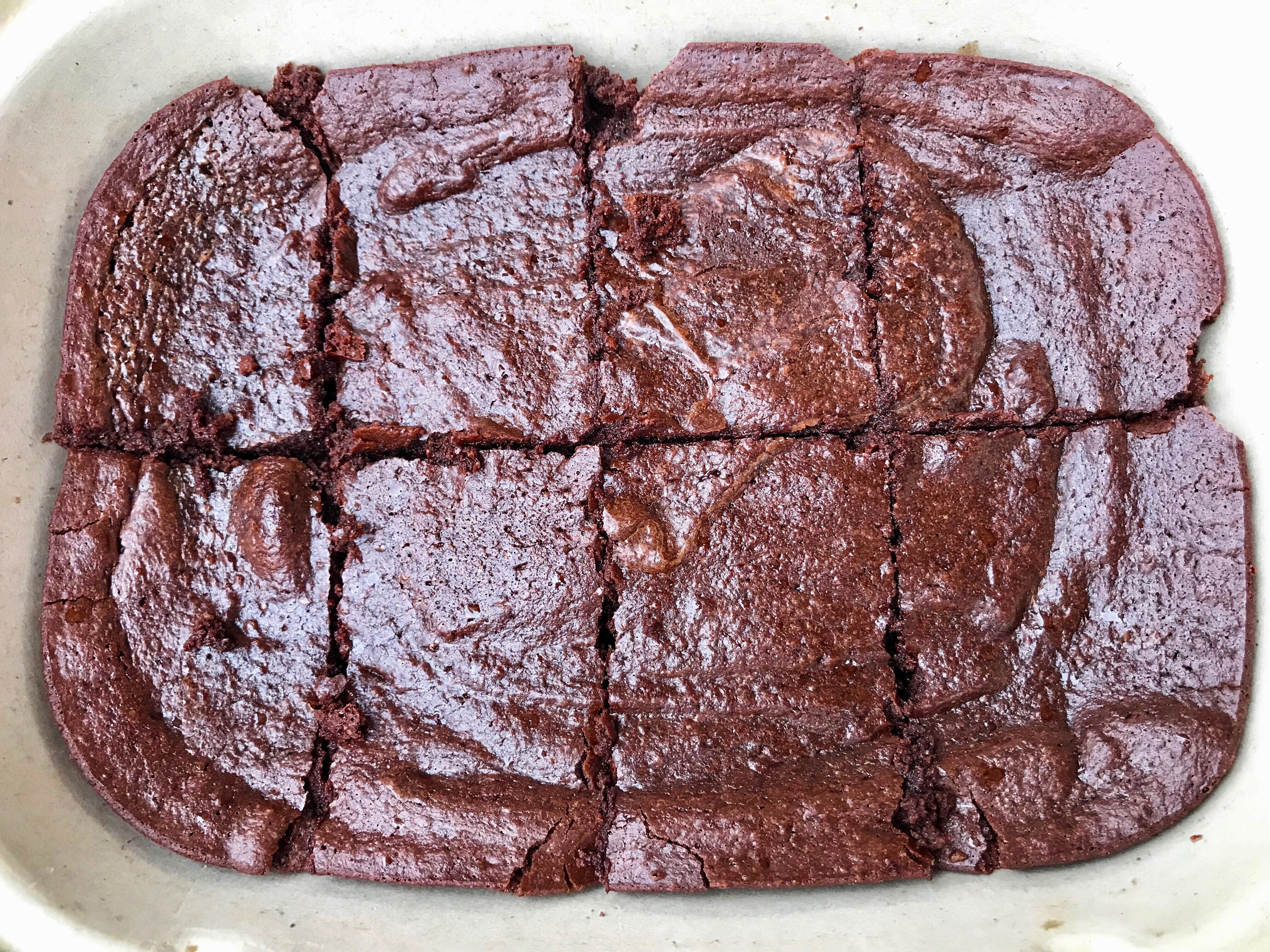 Fittest Brownies (pan of 8 brownies)