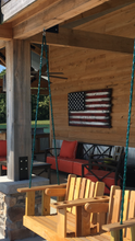 "Load image into Gallery viewer, ""Ol' Glory"" Tennessee Barn Wood Flag"