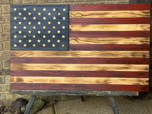 "Load image into Gallery viewer, ""The Americana 2"" with charred finish"