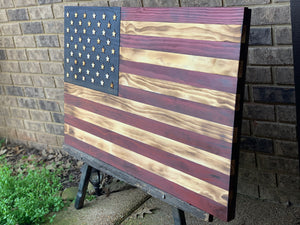 """The Americana 2"" with charred finish"