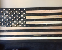 Load image into Gallery viewer, wood flag, wooden flag