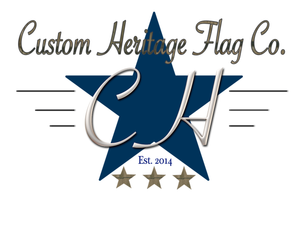 wood flag, wooden flag, Custom Heritage, gift card